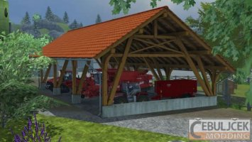 Placeable Toolshed
