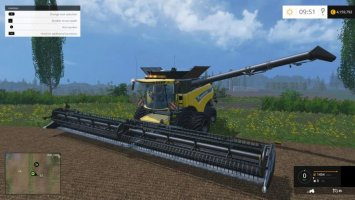 NEW HOLLAND CR1090 DYNAMIC FRONT TWIN WHEELS