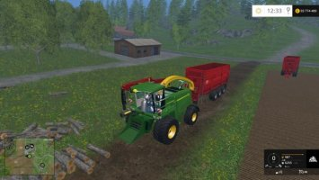 John Deere 7950 Flishugger ls15