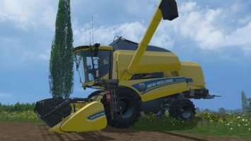 NEW HOLLAND TC590 COMBINE & HEADER PACK