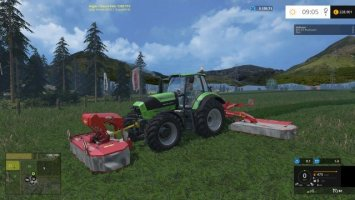 Kuhn FC313F / FC883 with swathing (FBM Team-Mod)