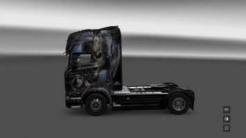 Scania R Warrior Skin ets2