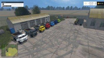 IFA L60 Getreideaufbau