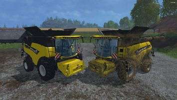 New Holland CR1090 Wheels