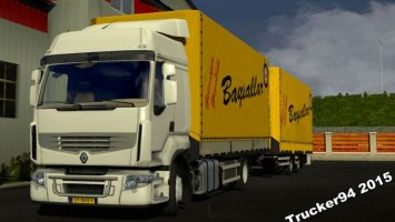 Renault Premium + Tandem Trailer