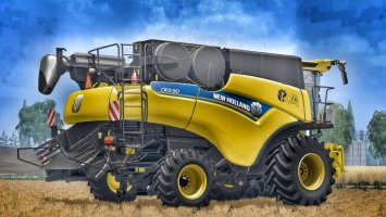 New Holland CR9.90 White & Yellow Rims