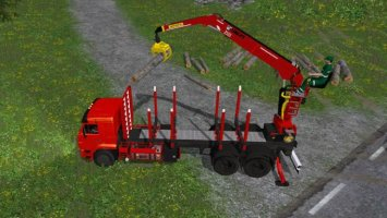 KAMAZ 65117 FOREST EDITION