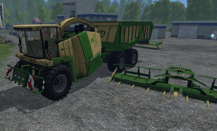 KRONE BIG X 650 CARGO 4.3B LS15