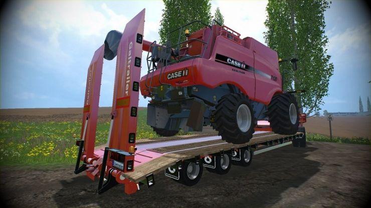 Galtrailer Sc Tieflader Clean Ls15 Mod Mod For