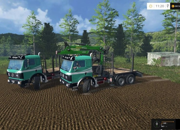 Mercedes Benz Sk 1935 Wald V1 2 0 0 Ls15 Mod Mod For
