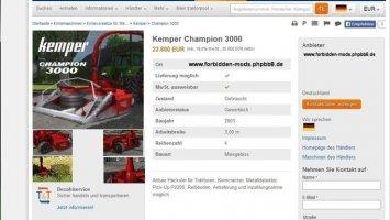 Kemper Champion 3000 FS17
