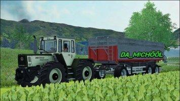 MB-Trac 1600 Silberdistel MR ls2013