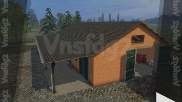 Brick garage