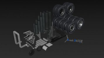 LKW Schlepper Umbau Kit 101 Teile