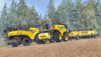 New Holland CR9.90 Black & Yellow Edition  V1.1