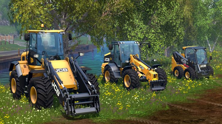 jcb dlc mod mod for landwirtschafts simulator 15 ls portal. Black Bedroom Furniture Sets. Home Design Ideas