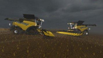 New Holland Cr9.90 Beta Terra Wheels