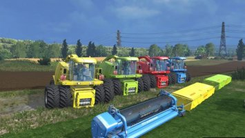Krone BIGXtreme HDR Dyeable pack v1.3