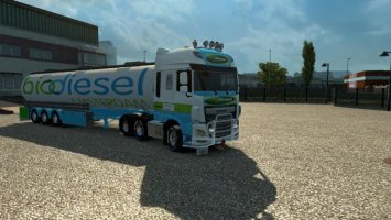 Daf Euro 6 Bio Diesel 1.16.2 / 1.17.x