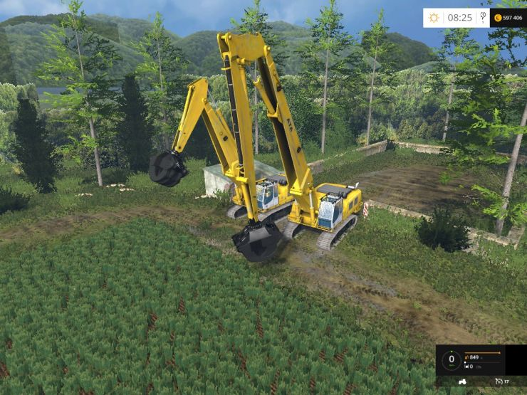 Rolo Excavator Forest Pack Beta - LS15 Mod | Mod for ...