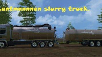 Lantmannnen Slurry Truck Trailer