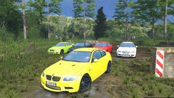 BMW M3 E92 Multicolor V2