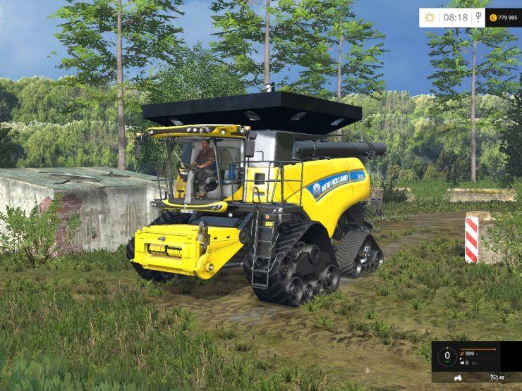 New Holland CR 1090 ATI 4×4 quadtrac - LS15 Mod | Mod