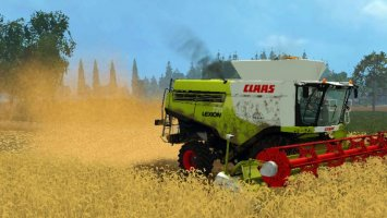 Claas Lexion 770 v2 with chopper dust