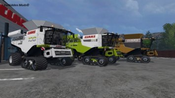 Claas Lexion 780 TT Pack by mr.cool13 (FBM-Team)