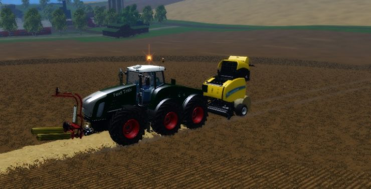 Fendt TriSix Tractor