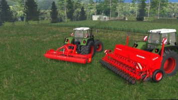 Seed and cultivator Kuhn LS15