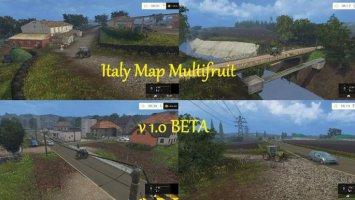 Italy Map Multifruit v1.0 BETA