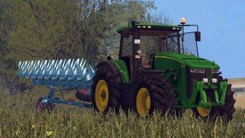 John Deere 8370R v3.0 (Ploughing Spec)