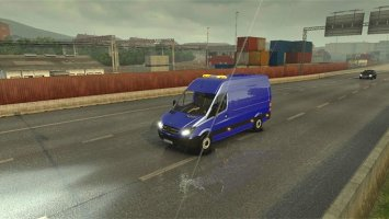 Mercedes Sprinter 1.18 with template V4 ets2
