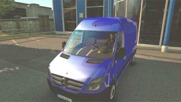 Mercedes Sprinter with Template v2 ets2