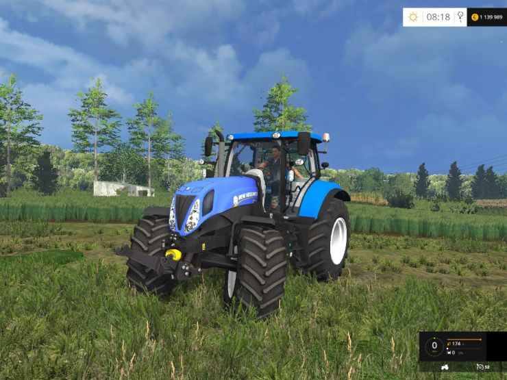 New Holland T7.170 v1.0 Beta