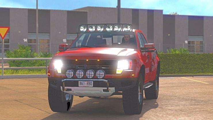 Ford Raptor Car