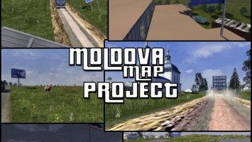Republic of Moldova Map Project v0.2 RC2 ETS2