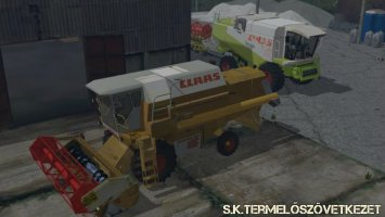 Claas Dominator 106 v0.9 Beta