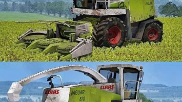 Claas Jaguar 870 Washable ls2013