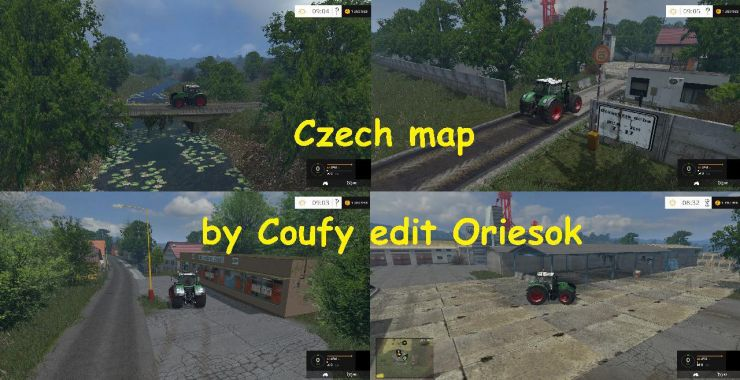 Czech map by Coufy edit Oriesok