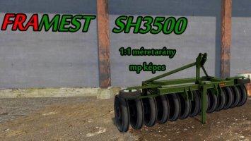 Framest SH3500 Silóhenger