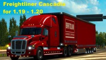 Freightliner Cascadia. Adapted v1.19 & 1.20