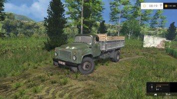 GAZ-53 Green LS15