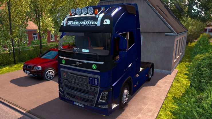 New Volvo FH16 Accessories + Interior - ETS2 Mod | Mod for Euro ...