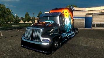Freightliner Coronado Optimus Prime Stewen Edition