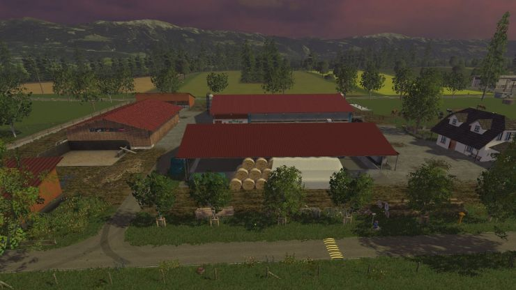 Kleinseelheim Map V LS Mod Mod For Landwirtschafts - Southern norway map ls15