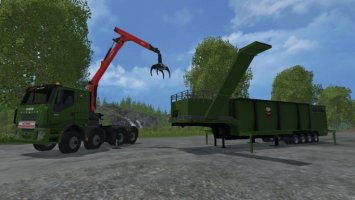 The Beast Hochleistungsholzhäcksler v1.1