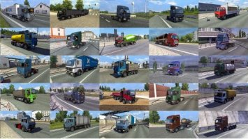 Truck Traffic Pack by Jazzycat v2