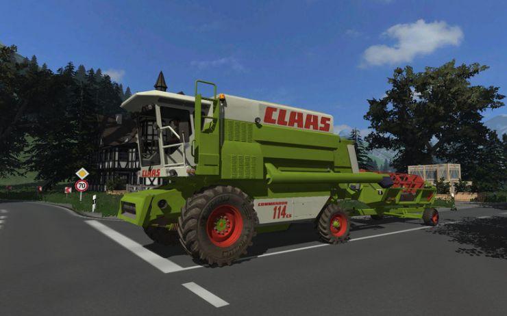 Claas Commandor 114cs LS2013